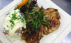 T-Bone Steak vom Grill