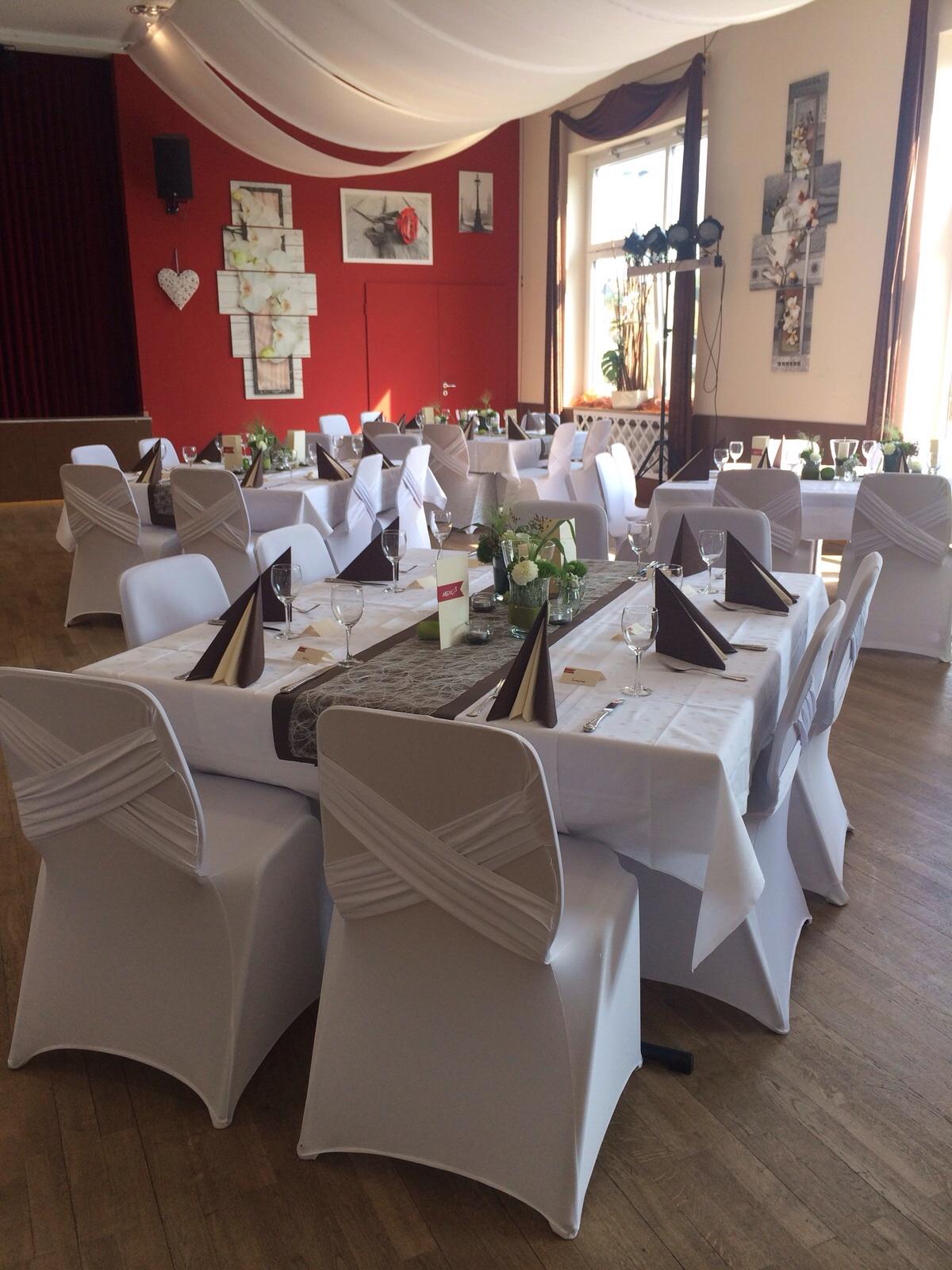 Hochzeitsfeier Restaurant Goldener Schaumloffel