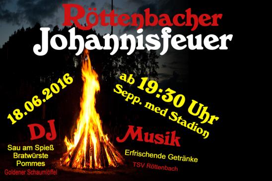 Röttenbacher Johannisfeuer