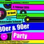 80er 90er Party im Goldenen Schaumlöffel am 2.Februar 2019