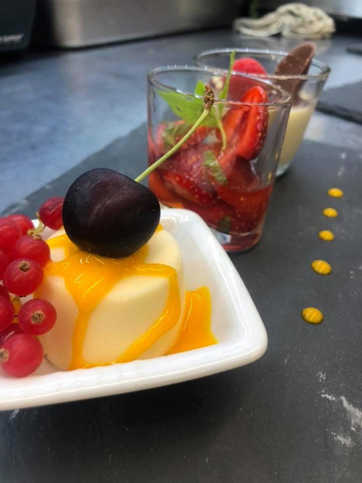 Sommerliches Dessert