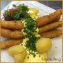 panierter Spargel (hausgemachte Panade vom Restaurant Goldener Schaumlöffel)